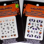 Dollarama Halloween Nail Stickers & Decals