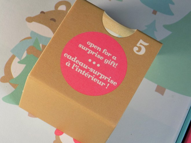 2016 DavidsTea Advent Calendar Coupon - Extra Surprise Gift