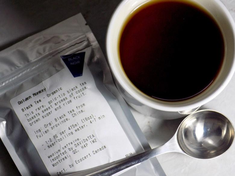 DavidsTea Golden Monkey Black Tea Review Davids Tea Straight Teas Fall 2016
