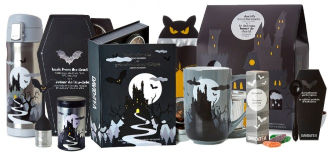 DavidsTea Halloween Collection 2016