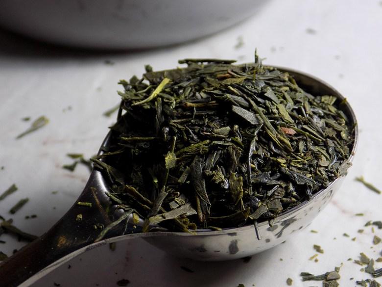 DavidsTea Imperial Sencha Tea Review Davids Tea Straight Teas Fall 2016 - Perfect Spoon of Loose Imperial Sencha Tea