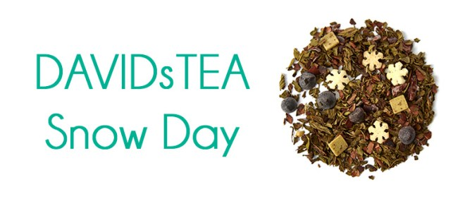 DavidsTea Snow Day 2016 Holiday Tea