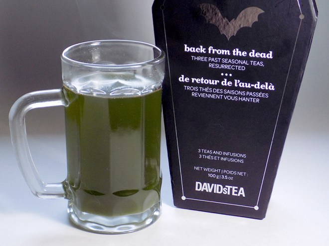 DavidsTea SwampWater Green Coloured Halloween Tea 2