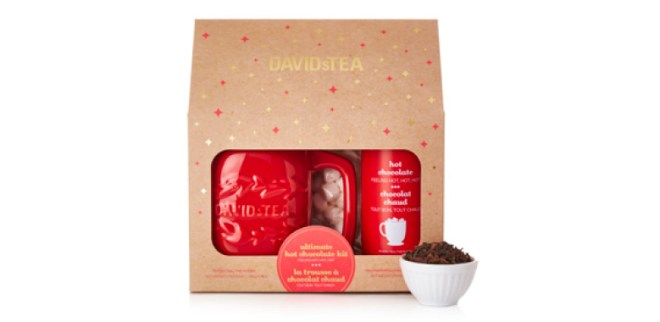 DavidsTea Winter Collection - Hot Chocolate Gift Set