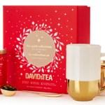 DAVIDsTEA Winter Collection Tea Pot & Cup Sets