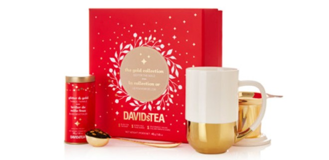 DavidsTea Winter Collection - The Gold Collection
