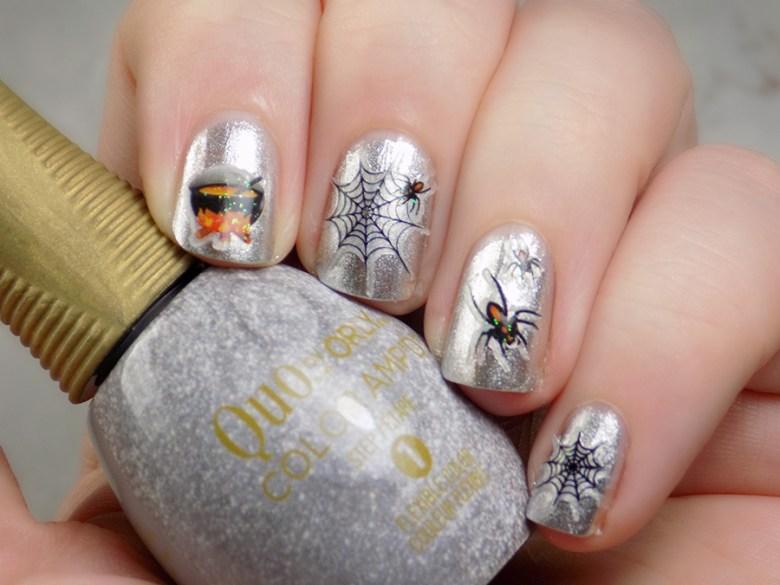 Dollarama Halloween Nail Stickers & Decals - Tea & Nail Polish