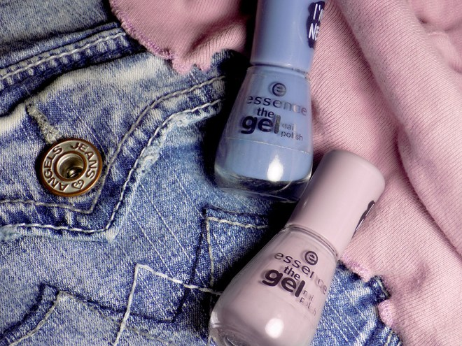 Essence The Gel Jeans On and So What Polishes Review & Swatches