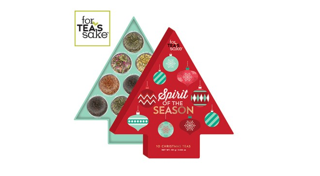 For Teas Sake 2016 Advent Calendar Canada available Chapters Indigo