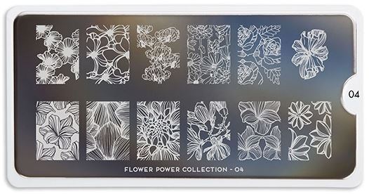 MoYou Flower Power 04 Plate Trade Secrets Canada