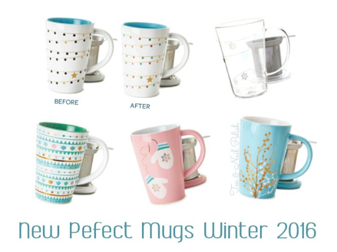 New DavidsTea Winter Collection Perfect Mugs