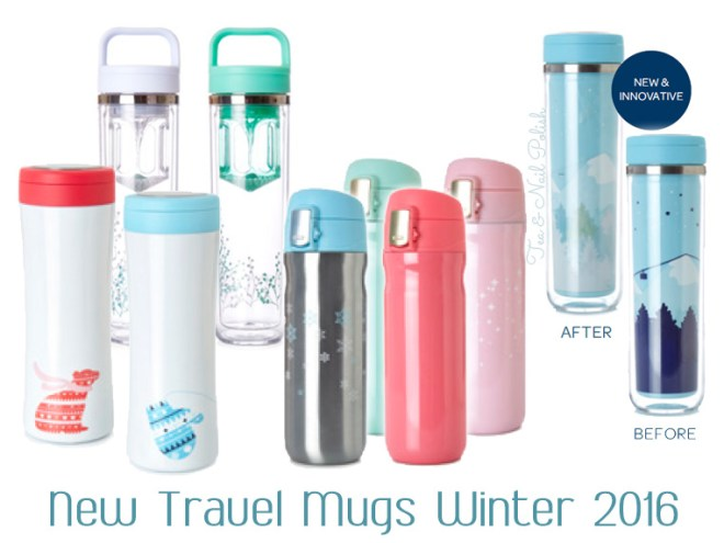 New DavidsTea Winter Collection Travel Mugs