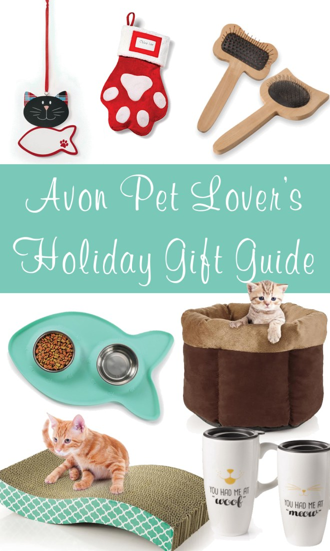 Avon Holiday Gift Guide For Cat Lovers - Avon Cat Products - Christmas 2016