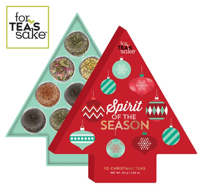 For Tea's Sake Holiday 2016 Tea Gift Sets - 10 Teas of Christmas Advent Calendar - Chapters-Indigo