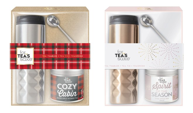 For Tea's Sake Holiday 2016 Tea Tumbler Gift Sets
