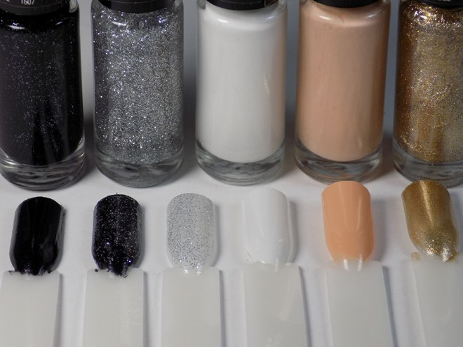Hard Candy Jingle Nails - Neutrals Swatches
