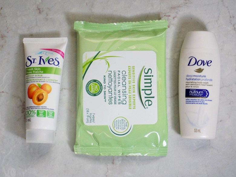 Topbox Unilever Classic Box - Skincare from Dove Simple St Ives