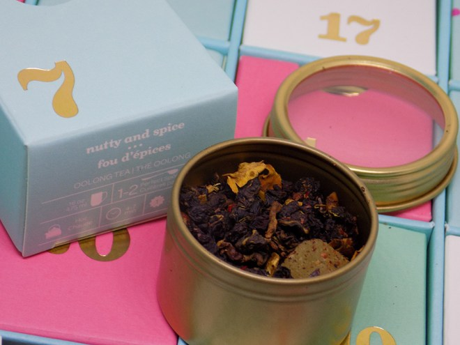 DavidsTea 2016 Advent Calendar Day 7 - Nutty and Spice