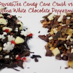 DavidsTea Candy Cane Crush vs Teavana White Chocolate Peppermint