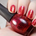 Pink and Gold Tree Nails with BP-L001 & Quo Breathable Stronger Than Ever