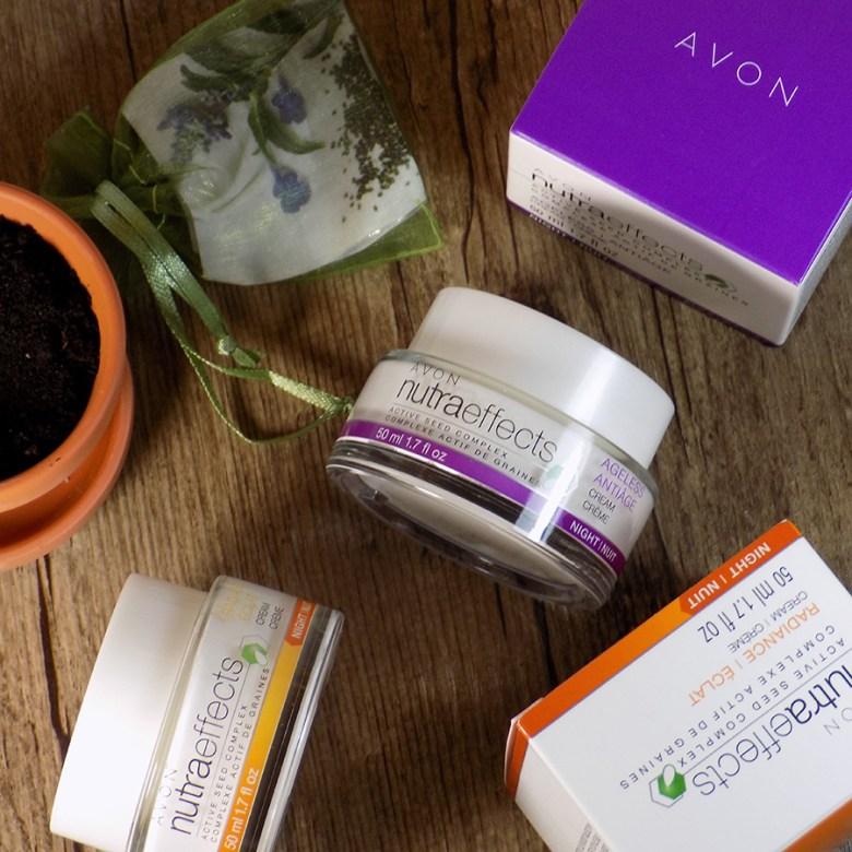 Avon NutraEffects Night Creams - Radiance Ageless Reviews INSTA
