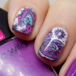 Born Pretty Store BP-W19 Water Decals Swatch & Review