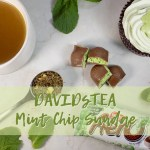 DAVIDsTEA Mint Chip Sundae Tea Review (Malt Shop Collection)