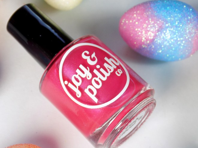 Joy and Polish Pink About It - Bottle Shot 2