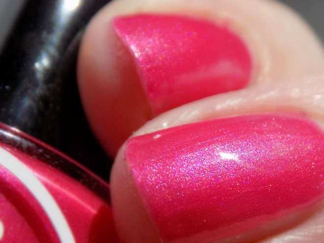 Joy and Polish Pink About It - Macro Swatch