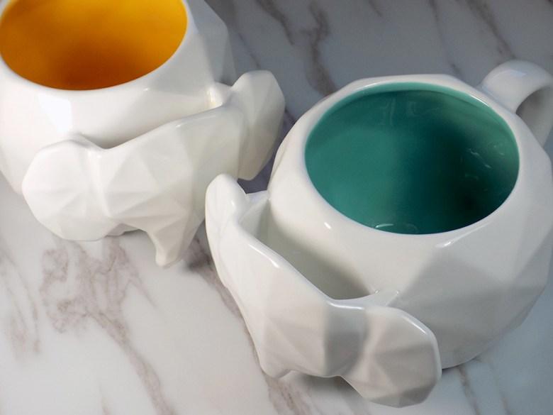 Avon Elephant Mugs