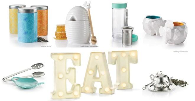 Avon 2017 Tea offerings - Tea;ish, TEA/EAT Marquee, honey pot, elephant mugs, infuser, travel mug and more