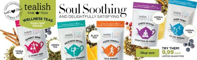 Avon selling Tealish teas