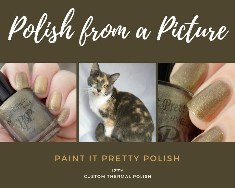 Polish from a Picture - Izzy by Paint It Pretty - Custom Holo Thermal Polish In Memory of Izzy