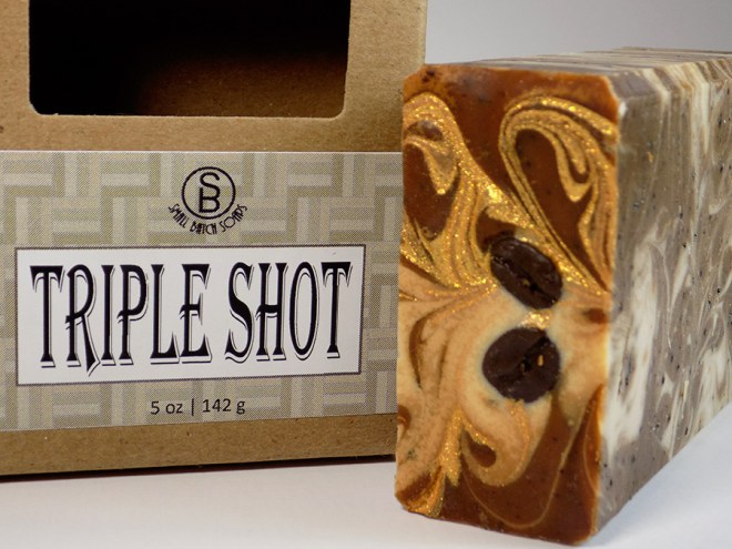 Small Batch Soaps - Canadian Indie - Triple Shot Soap Review