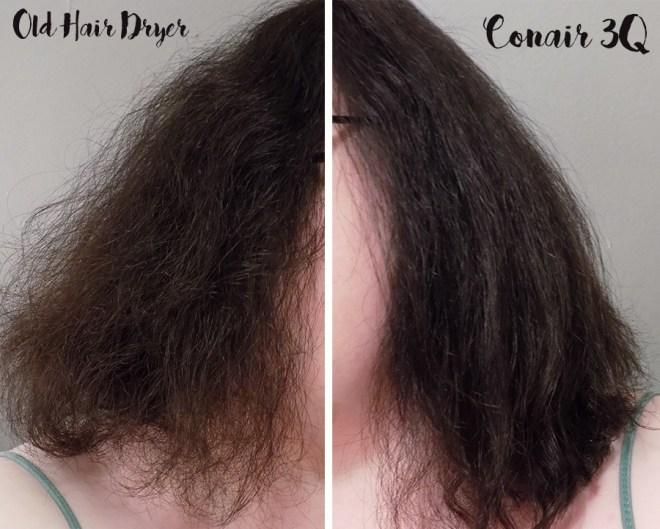 Conair 3Q Hair Dryer Review - Less Frizz Claims