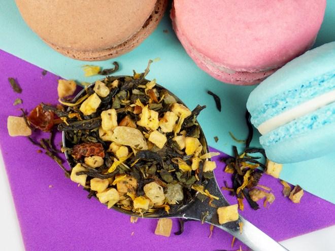 DavidsTea Jasmine Creme Brulee Tea Review Loose 2