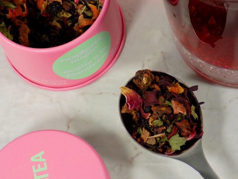 DavidsTea Raspberry Mojito Tea Review - 2017 Davids Tea Cocktail Collection Tea Review - Loose Tea