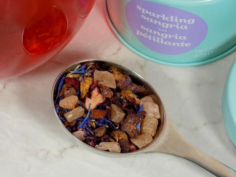 DavidsTea Sparkling Sangria Tea Review - 2017 Davids Tea Cocktail Collection Tea Review - Loose Tea