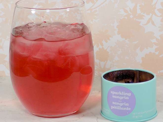 DavidsTea Sparkling Sangria Tea Review - 2017 Davids Tea Cocktail Collection Tea Review