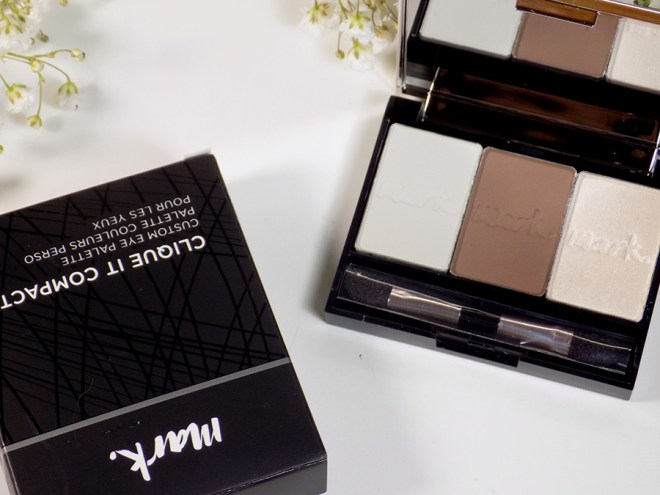 Mark by Avon Clique It Compact with single eyeshadows installed