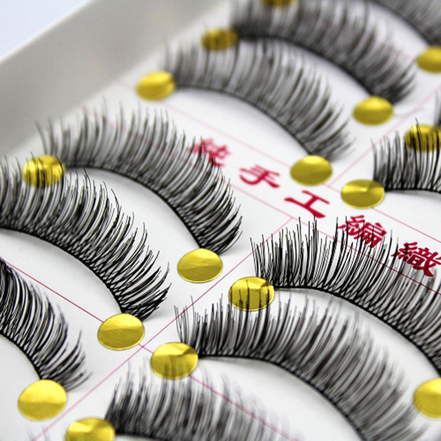 Set 10 Lashes from Aliexpress