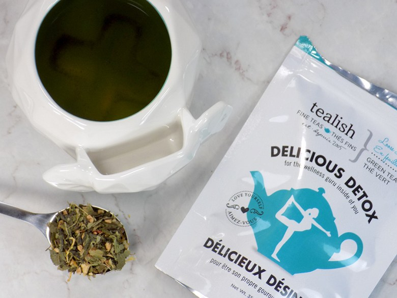 Tealish Delicious Detox Tea Review - Avon Elephant Mug