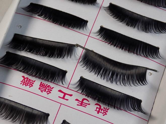 AliExpress Pack of Eyelashes