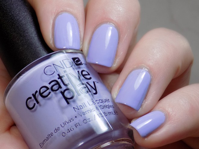 CND Creative Play Barefoot Bash from Sunset Bash Collection - Swatch Artificial Light