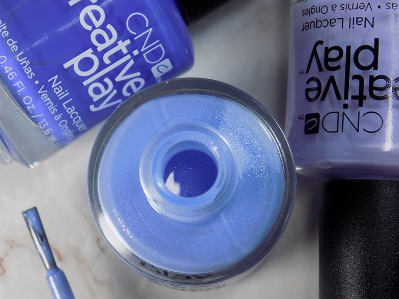 CND Creative Play Skymazing from Sunset Bash Collection - Open Bottle and Brush