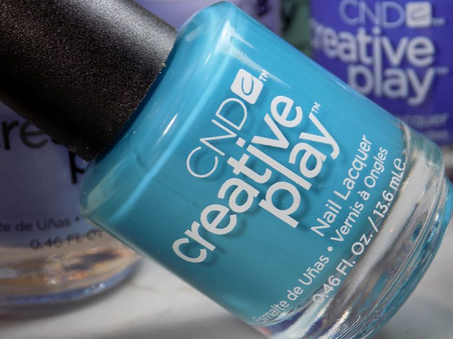 CND Creative Play Teal The Wee Hours from Sunset Bash Collection - Bottle Shot