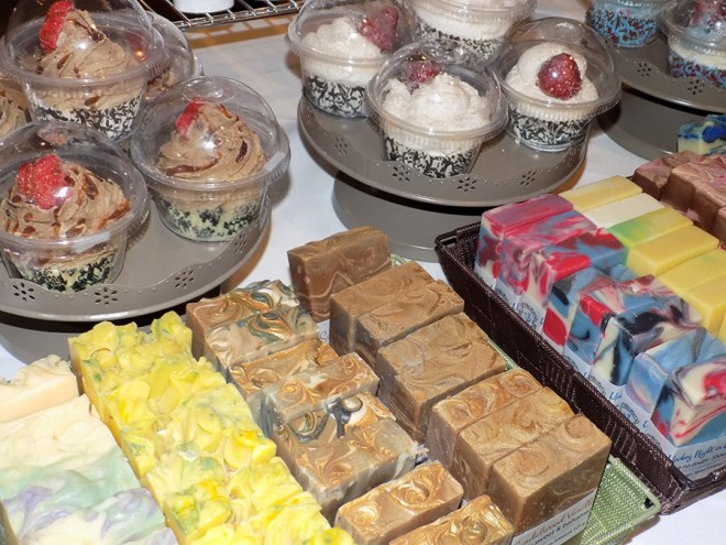 SOGA Soaperie at Indie expo Canada