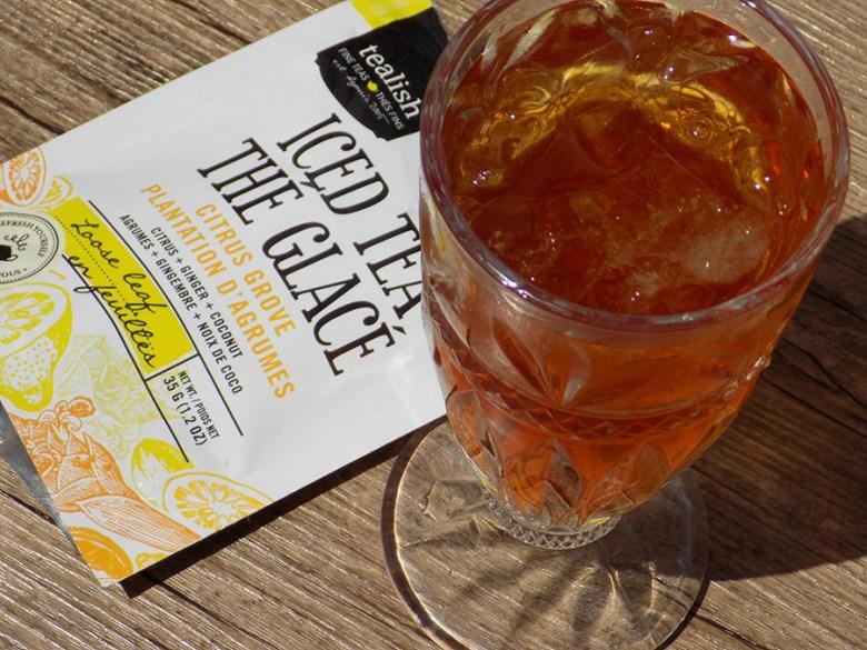 Tealish Citrus Grove Iced Tea Loose Tea - Brewed