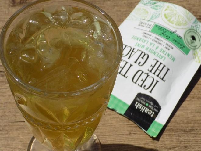 Tealish Lavender Mint Iced Tea Loose Tea - Brewed