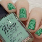 Avon Gel Finish Clover Nail Polish Swatches & Review